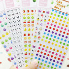 Best Colorful Animal Stickers Lovely Craft Scrapbook Card DIY Gift for Kids WF