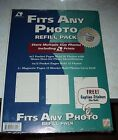 Photo Refill Pack ~ Multiple Sizes ~ Acid Free ~ Caption Stickers