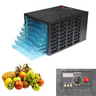 Commercial Food Dehydrator Jerky Maker Dryer Tray 8 Layer Fruit Electric Blower