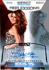 TNA SoCal Val 2012 Reflexxions SILVER Authentic Autograph Card SN 67 of 99