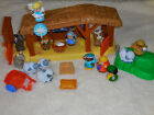 Fisher Price Little People Nativity Play Set Stable Manger Musical Lights Jesus