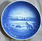 BING & GRONDAHL 2018 Christmas Plate B&G – Just Released Winter Scene with Fox
