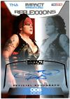 TNA ODB 2012 Reflexxions GOLD Authentic Autograph Card SN 23 of 50