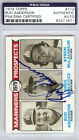 Bud Anderson Autographed Signed 1979 Topps Card #712 Seattle Mariners PSA DNA