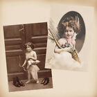 Fantasy Child As Cupid 2 New 4x6 Vintage Postcard Image Photo Prints AN14 AN43