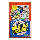 2017 TOPPS ARCHIVES BASEBALL HOBBY BOX - 2 AUTOS PER BOX!