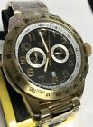 New Elysee Black Dial Yellow Gold Tone Black Dial Sport Watch