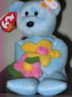Ty Beanie Baby ~ BLUEBONNET the Bear ~ MINT with MINT TAGS ~ RETIRED