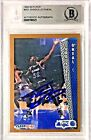 SHAQUILLE O'NEAL Signed 1992-93 FLEER #401 MAGIC RC Rookie Card BGS Shaq Auto