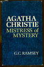 Agatha Christie Mistress of Mystery by GC Ramsey First Edition DJ 1967