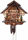 BEER DRINKER  Quality hand carved traditional German cuckoo clock 26 11