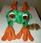 Ty Beanie Baby - PANAMA the Tree Frog (9.5 Inch) MINT with MINT TAGS