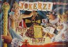 Jokerz Pinball Promo Poster Williams 1988
