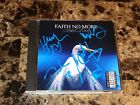 Faith No More Rare Band Signed Angel Dust CD Mike Patton Jim Martin Photos + COA
