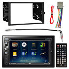 2DIN Touch Screen DVD Bluetooth USB Receiver Adapter Radio Harness Dash Kit