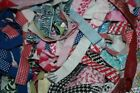 Lot Grab Bag Assorted Remnant Lace Elastic Stretch Non Sewing Gimp Poly Trims