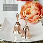 12 Rose Gold Metal Kissing Bell Or Wedding Bell Wedding Shower Party Favors