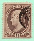 One Penny Sale 209 Early US Stamp Fancy Cancel