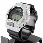 DW6900 Original G Shock for Mens Iced Out Lab Silicon Rubber Band Watch