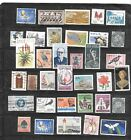 SOUTH AFRICA 35 DIFFERENT POSTALLY USED STAMP COLLECTION LOT SET PACKET W OLD