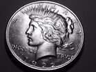 1922p Peace Dollar BU Condition 5