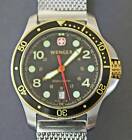 Two-Tone Wenger / Swiss Army Divers Watch - FREE SHIPPING