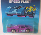 GT RACER Hot Wheels Vintage SPEED FLEET Purple 1789 UH Vtg CAR Htf Blister