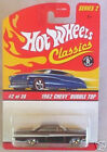 1962 Chevy Bubble Top Hot Wheels Car CLASSICS Series 2  #2 LE Toy Diecast 1:64