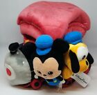 Disney Parks Mickey Mouse & Pluto Train Plush Playset - NEW