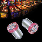 PA 30x 1893 44 47 1847 BA9S 4 SMD LED Pinball Machine Light Bulb Pink 63V