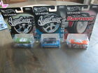 2003 Hot Wheels Whips Lot 3 Diecast New Cars Open Cards WestCoast Baurtwell