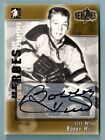 BOBBY HULL 2004 05 IN THE GAME ITG HEROES & PROSPECTS SIGNATURE AUTOGRAPH SP