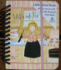 Will Cook for Shoes Little Spiral Notebook  by Legacy / Dan DiPaolo