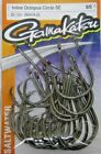 GAMAKATSU SALTWATER 265 INLINE OCTOPUS CIRCLE SE HOOK VALUE PACK NEW 8 0 4