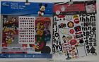 EK Success 2 Different 12x12 Disney Mickey Mouse Scrapbook Page Kits Stickers