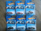 2004 Hot Wheels Lot 6 Diecast New Toy Cars First Editions Hummer Deora Card Cut