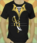 NEW Pirate Costume Disney Cruise Jack Sparrow Swashbuckler Adult T Shirt XL