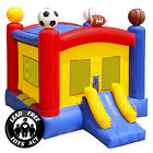 Commercial Grade 17x13 Bounce House 100 PVC Inflatable Sports Jumper w Blower