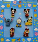 Disney Collectible Pin Booster Pack CUTIES Stitch Mickey  friends 7 Pins Sealed