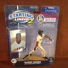 2000 BARRY BONDS SAN FRANCISCO GIANTS STARTING LINEUP 2 HASBRO  BASEBALL Figure