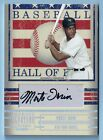 MONTE IRVIN 2005 DONRUSS SIGNATURE HALL OF FAME SIGNATURE AUTOGRAPH AUTO