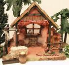 FONTANINI DEPOSE ITALY 5 LITED NATIVITY VILLAGE STABLE w 5 ACCESS 55539 GC BOX