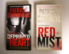 Depraved Heart  Red Mist paperbacks by Patricia Cornwell
