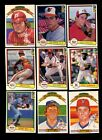 1982 DONRUSS BASEBALL COMPLETE SET MINT *INV4416