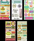 U CHOOSE Sandylion Essentials Stickers FRIENDS FAMILY Friendship Memories BFF