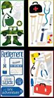U CHOOSE Sandylion Essentials Stickers DOCTOR MILITARY TOOLS RETIREMENT
