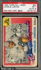 1955 Topps All-American Football #63 Charlie Justice Signed PSA DNA 1 w 9 AUTO