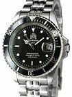 Tauchmeister Classic Automatic Dive Watch with Screw-Down Crown T0006