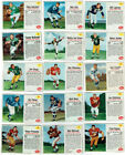 15 Card Lot of 1962 Post Cereal Football Cards Vintage Bob Lilly, Pete Retzlaff