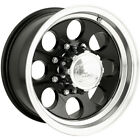 16x8 Black Alloy Ion Style 171 5x55 5 Rims Toyo Open Country AT II P255 70R16